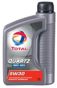 TOTAL 5W-30 QUARTZ INEO MC3 1L