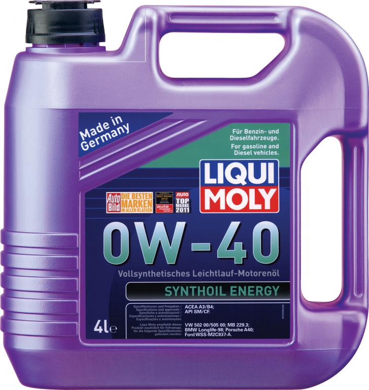 Liqui moly Synthoil Energy 0W-40 4L