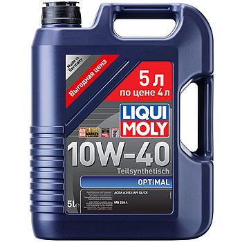 Liqui moly 10W-40 Optimal 5L